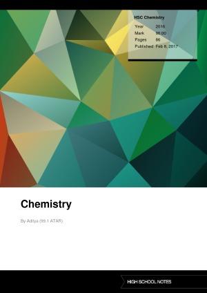 Chemistry | High School Notes